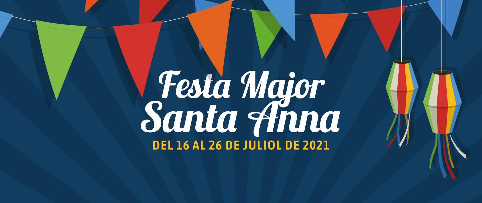Festa Major de Santa Anna 2021